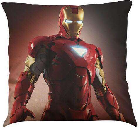 Official Marvel Avengers Iron Man Red Light up Chest Light Pillow With Filling