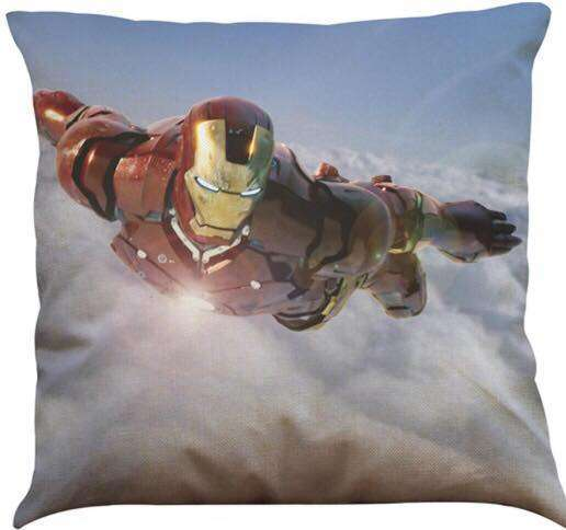 Official Marvel Avengers Iron Man Flying Pillow With Filling