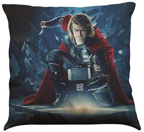 Official Marvel Avengers Thor Pillow With Filling