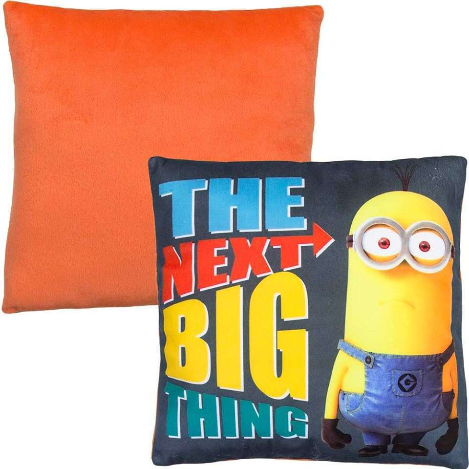 Official Illumination Entertainment Minions The Next Big Thing pillow in Orange