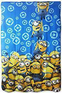 Official Illumination Entertainment Hanging Minions Fleece Blanket
