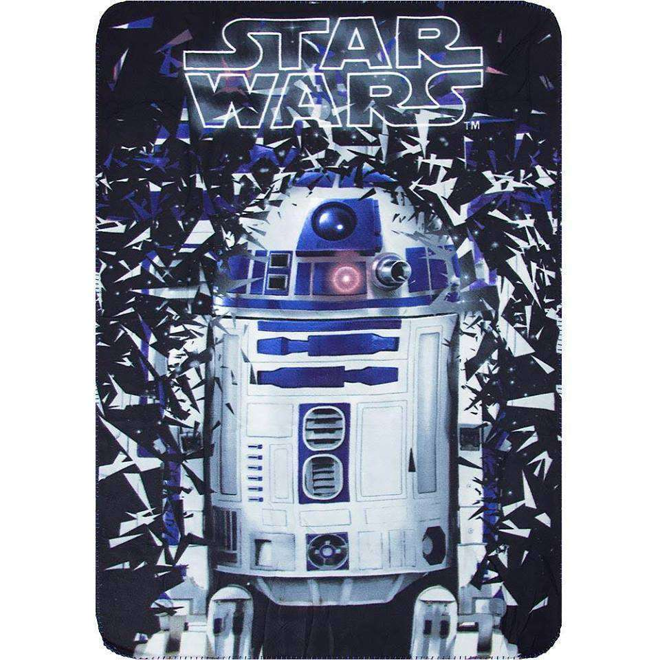 Official Disney Star Wars R2D2 Fleece Blanket