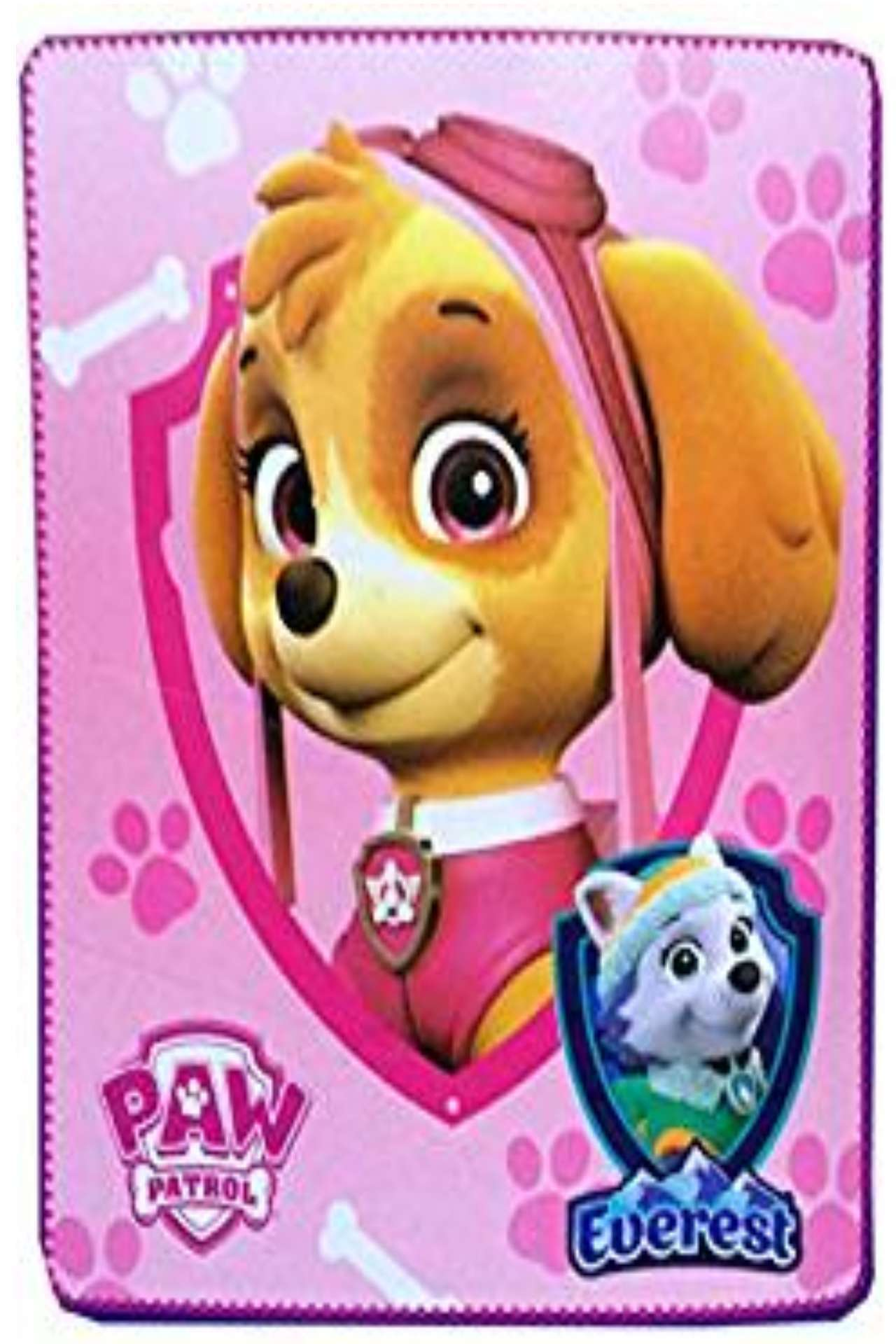 Paw Patrol Skye Nickelodeon Fleece Blanket