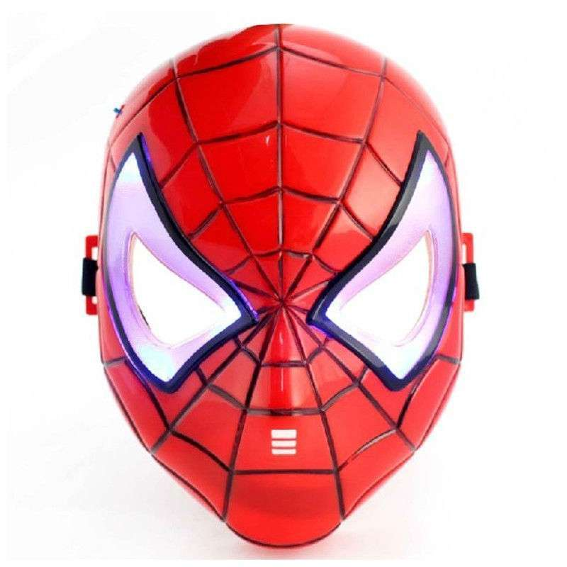Spider Man LED Mask With Light Up Eyes
