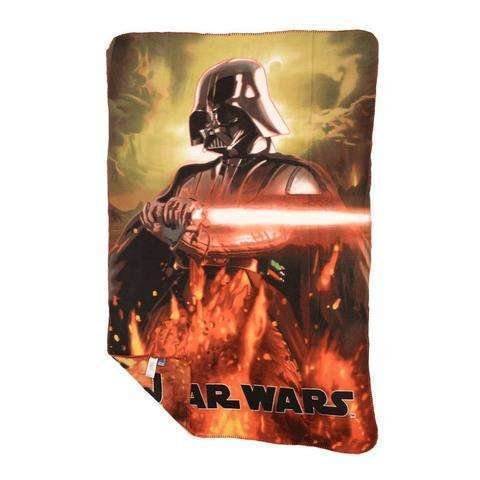 Disney Star Wars official Darth Vader fleece blanket