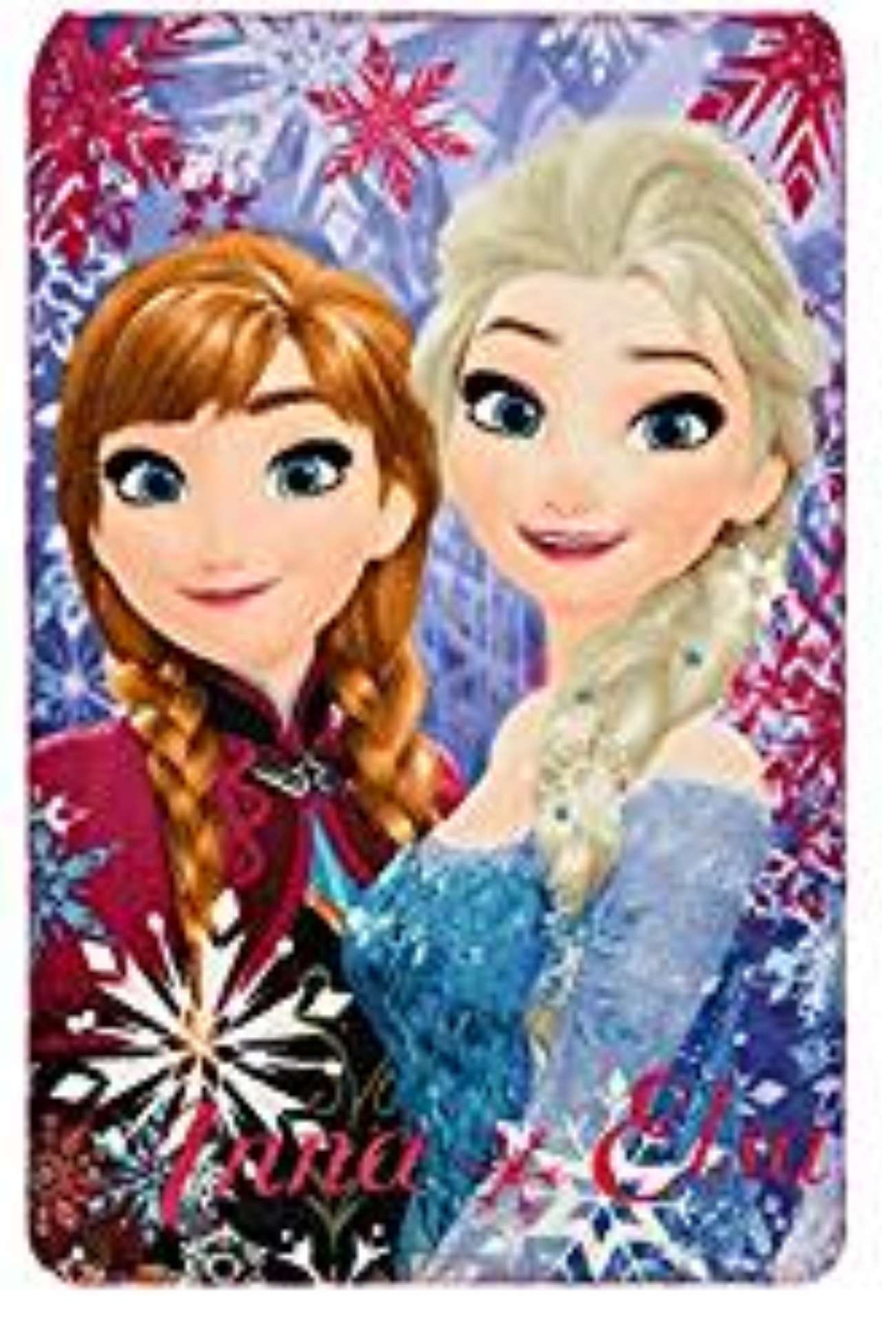 Disney Frozen Elsa And Anna Fleece blanket