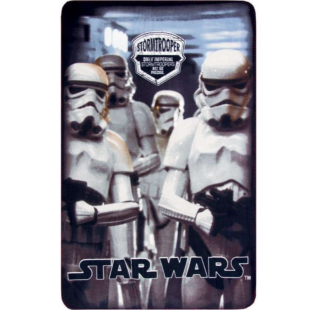 Official Disney Star Wars White StormTrooper Fleece blanket