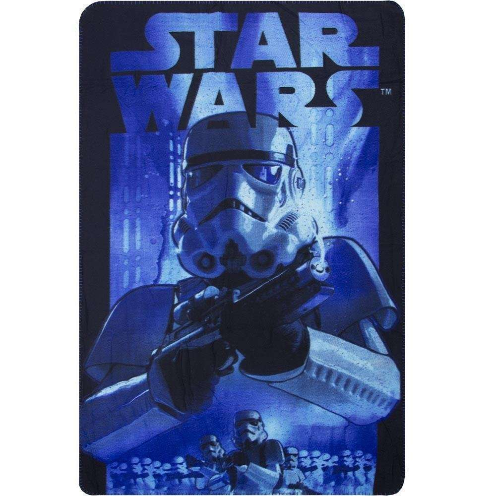 Official Disney Star Wars Blue StormTrooper Fleece blanket