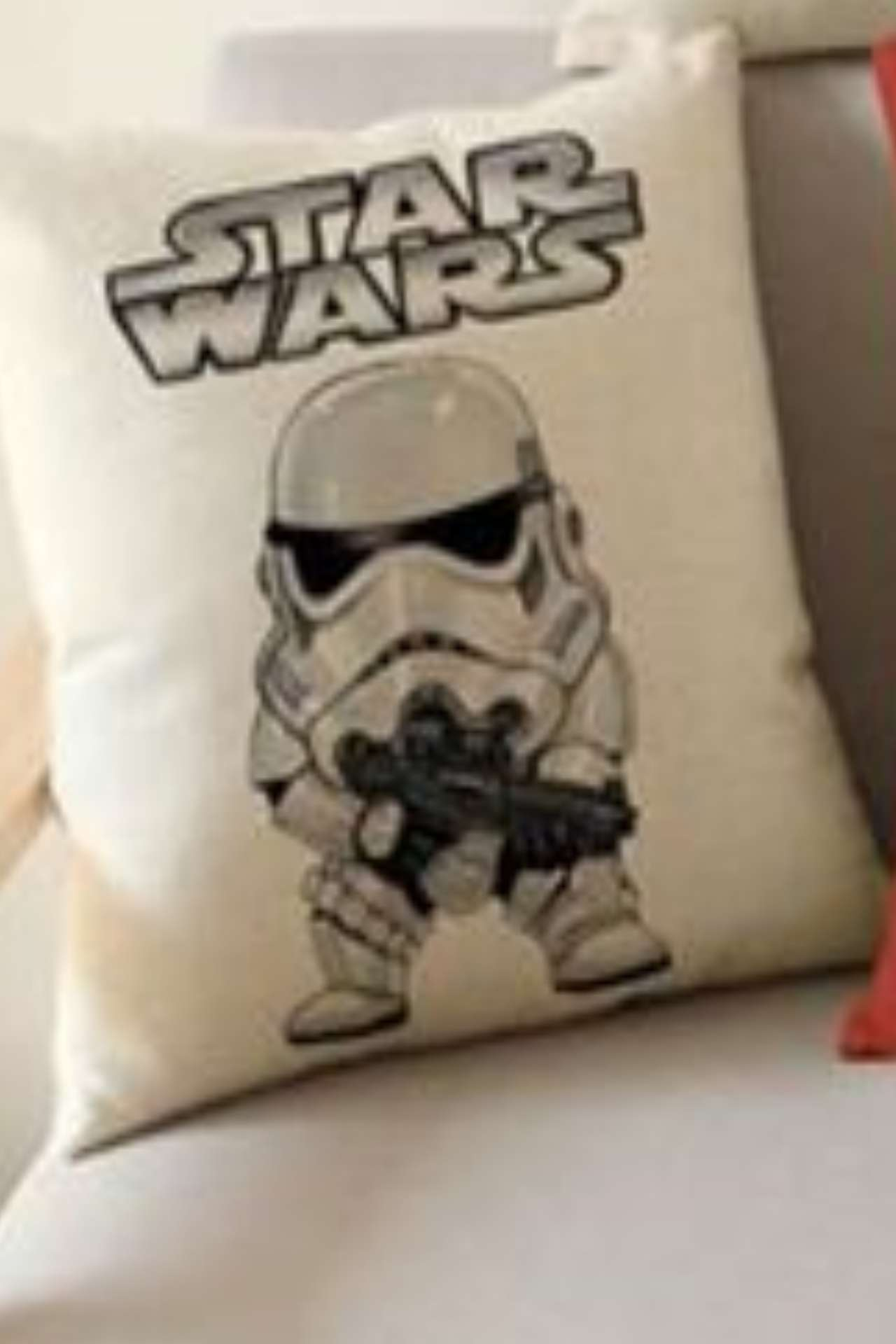 Disney Star Wars Funny Mini Trooper Cushion