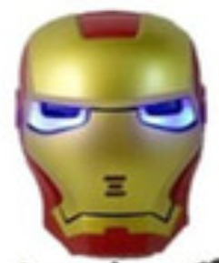 Iron Man LED Mask With Light Up Eyes