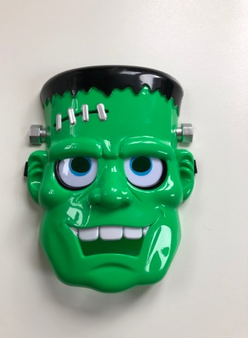 Frankenstein LED Mask With Light Up Eyes
