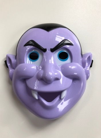 Dracula LED Mask With Light Up Eyes