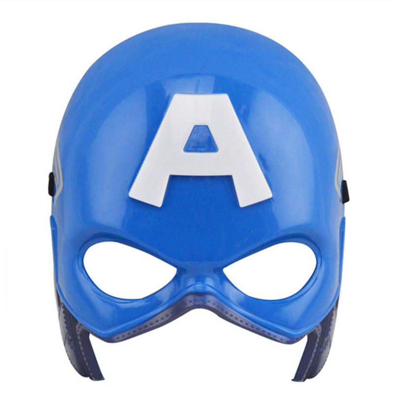 Captain America LED Mask With Light Up Symbol