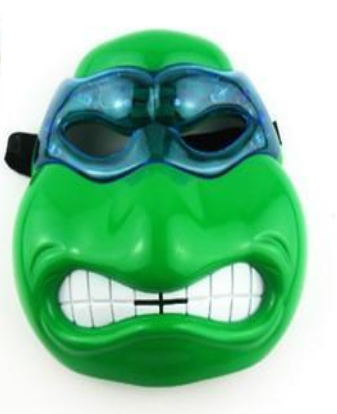 Teenage Ninja Turtle Leonardo LED Mask With Light Up Eyes