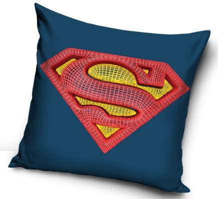 Official Warner Bros Dc Universe Superman Pillow Case