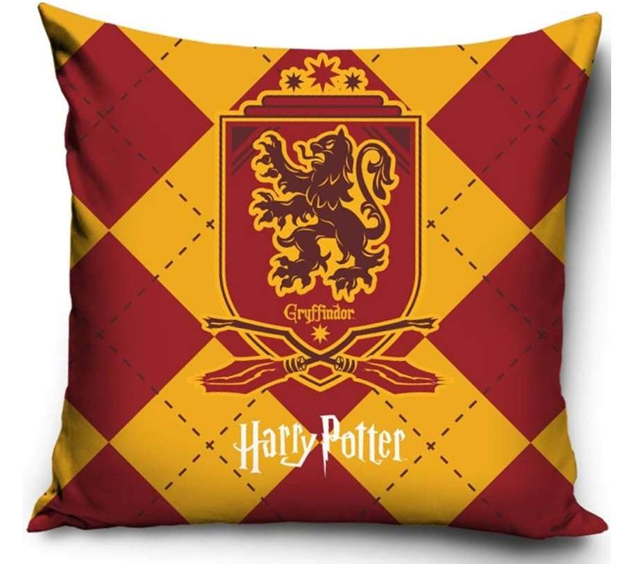 Official Warner Bros Harry Potter Gryffindor Cushion