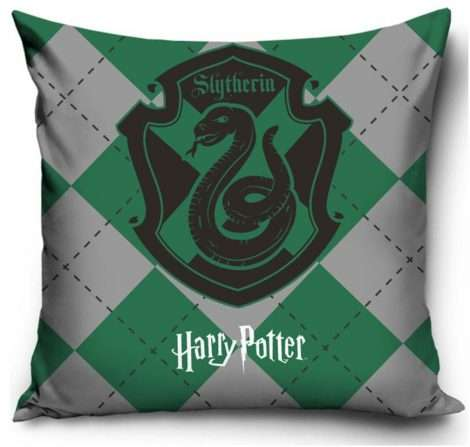 Official Warner Bros Harry Potter Slytherin Cushion