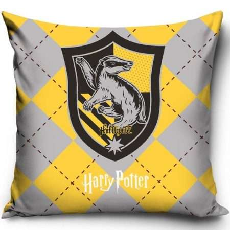 Official Warner Bros Harry Potter Hufflepuff Cushion