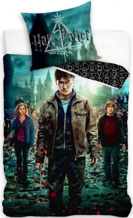 Official Warner Bros Harry Potter Single Duvet Cover With Pillowcase