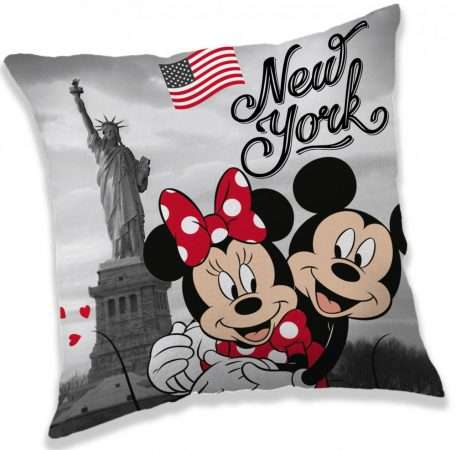 Official Disney Minnie Mouse And Mickey Mouse In New York Cushion