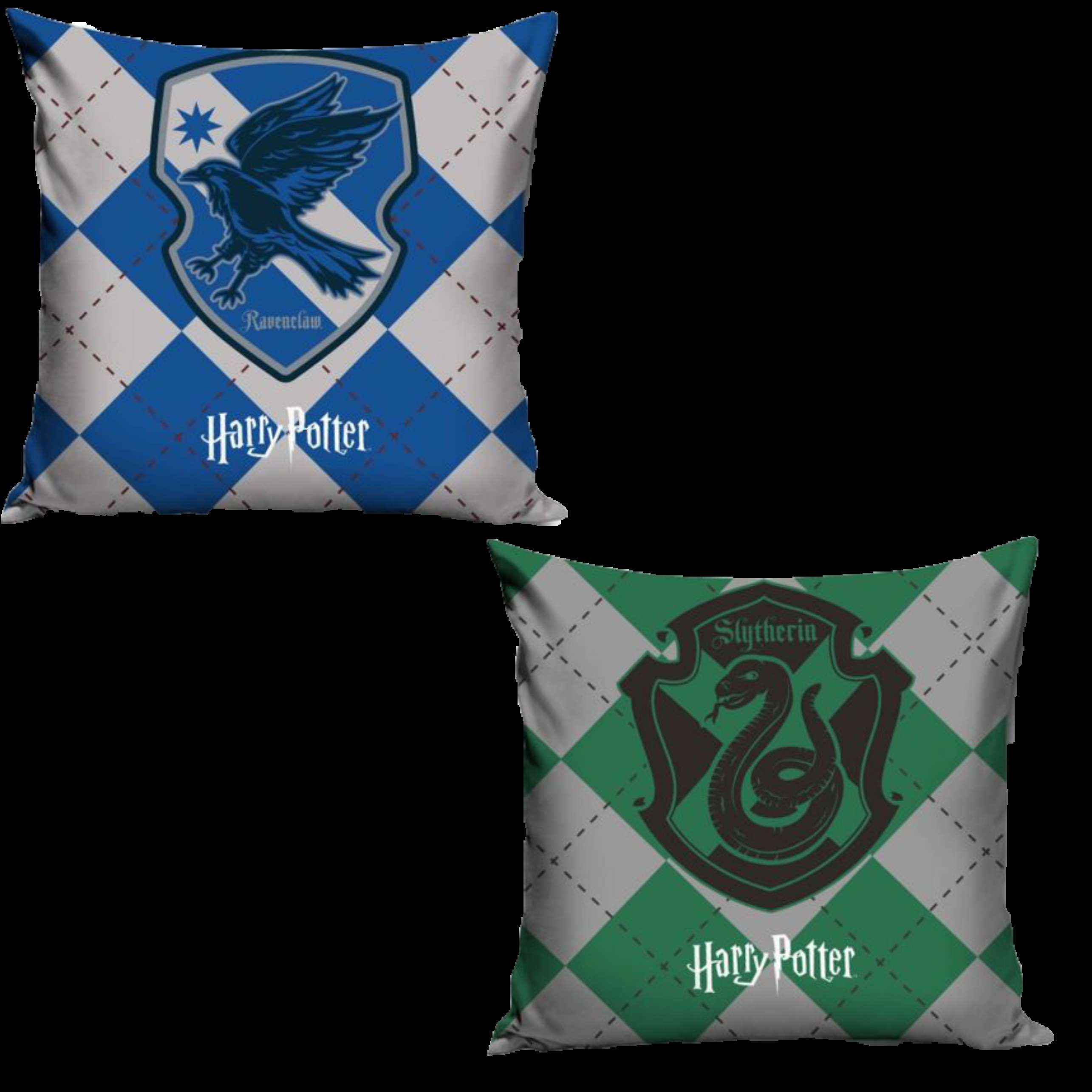 Official Warner Bros Harry Potter Ravenclaw And Slytherin Pillowcase Set Of Two