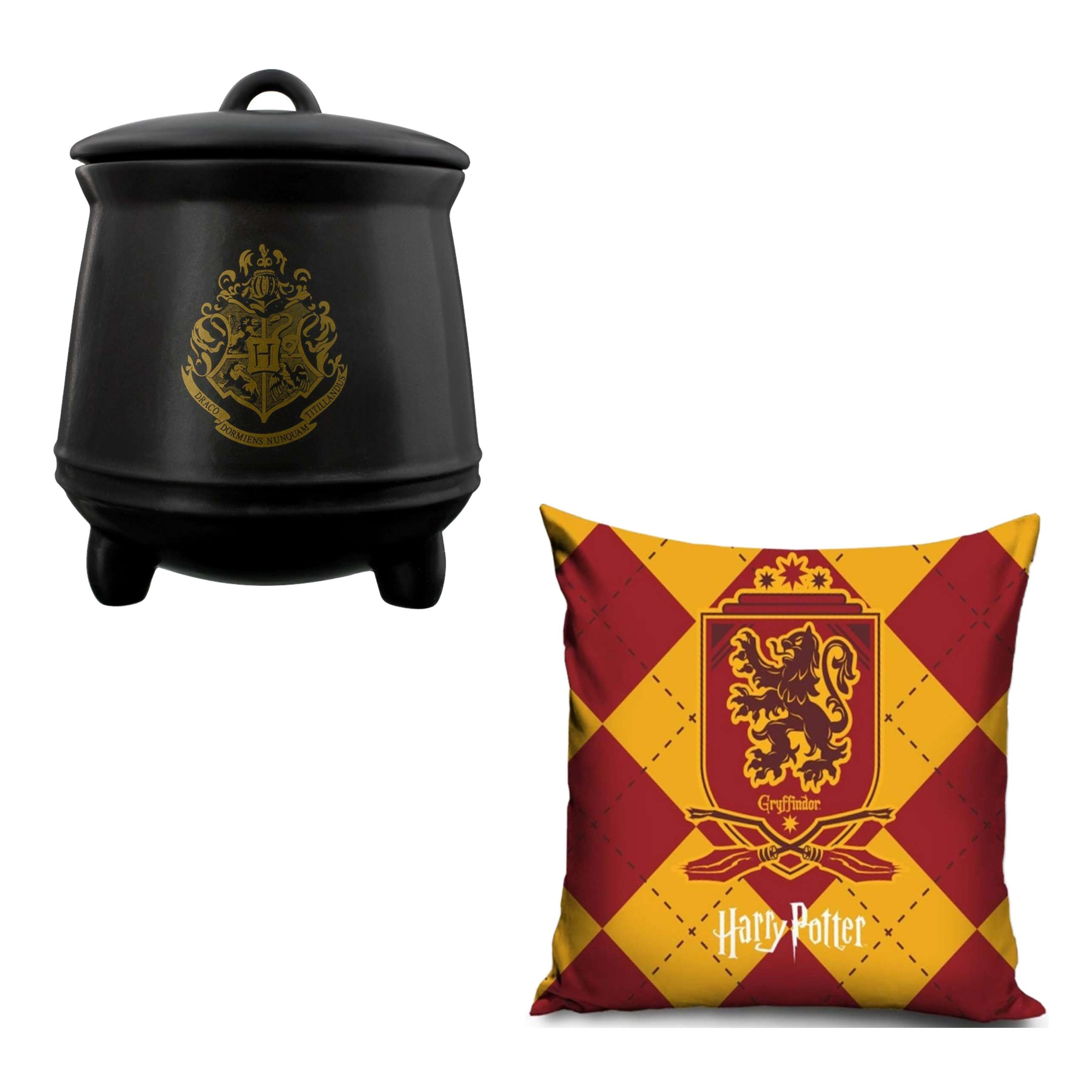 Harry Potter Griffindor Pillowcase And Storage Jar Set